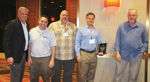 JMD Company was honored by Profile Products for its work on the Millennium Pipeline in West Virginia.
