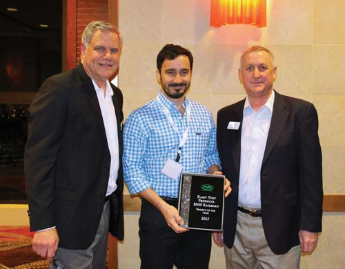 "Ramy Turf Products also received a ""Project of the Year"" award for its work on BNSF right-of-ways in North Dakota."